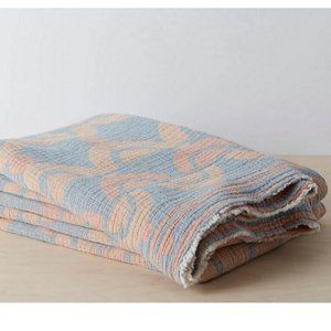 Allswell Organic Mod Geo Blanket -SIZE Full/Queen